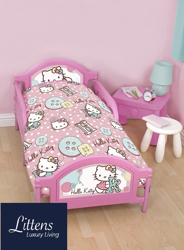 Hello Kitty Stitch Bed Bundle
